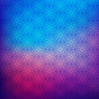 Floral pattern on gradient blur background  vector