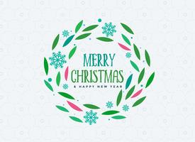 merry christmas vintage decoration background