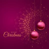 vacanze di Natale saluto bellissimo sfondo
