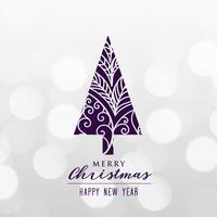 beautiful decorative christmas tree background