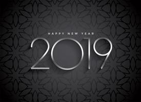 dark 2019 elegant background design