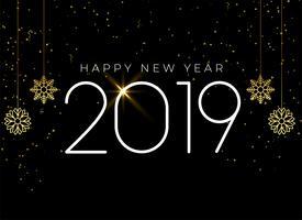 Gelukkig Nieuwjaar 2019 seizoensgebonden achtergrond