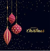 beautiful premium merry christmas greeting background