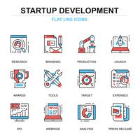 Project Startup Icon Set