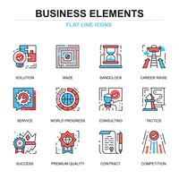 Business Elements Icon Set