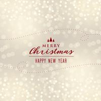 beautiful christmas bokeh background design