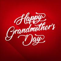 Happy Grandmother's Day Background
