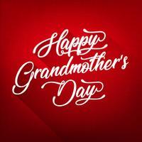 Fundo do dia da avó feliz