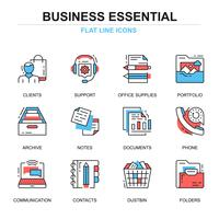 Business Essential Icon Set