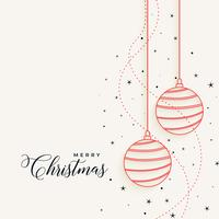 elegant christmas hanging line balls with stars