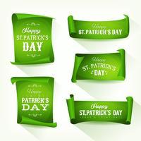 St. Patrick's Day Pergament-Rollensatz