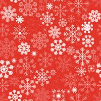 Seamless Christmas Snowflakes Background