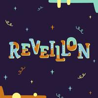 Reveillon Brazil New Year Vector
