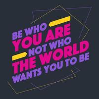 Creatieve inspirerende citaat Vector