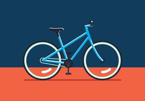 Fahrrad-Vektor