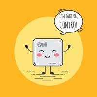 Estoy tomando Control Vector
