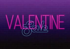 Happy Valentine's day. Valentine;s Day Sale event. 3d neon sign. Realistic neon sign. Love sign. Love neon sign.