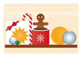 Vector Christmas Elements Illustration