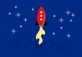 Free Rocket Vector