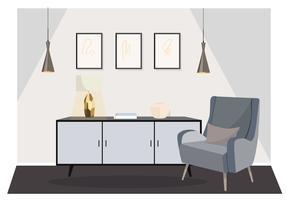Vector Livingroom Illustration