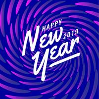 Happy New Year Instagram Post Abstract Background