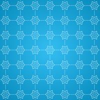 Decorative snowflake pattern background