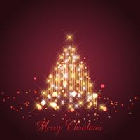 Fondo de árbol de Navidad de chispa