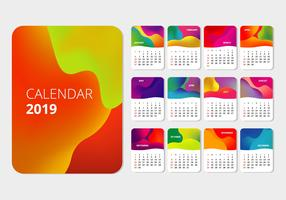 Calendrier imprimable 2019