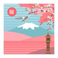 Cherry Blossom Flowers Tree Landscape