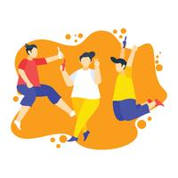 Parties and Gathering illustration