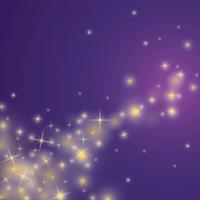 Vecteur poussière étoile