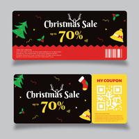 Coupon Template Vector Design