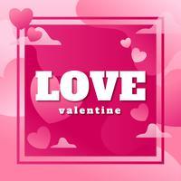 Love Valentine Poster