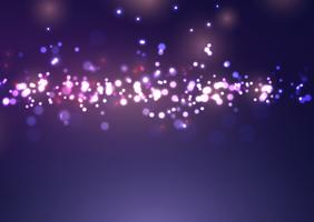 Jul bokeh ljus design
