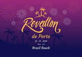 Reveillon Vector Illustration