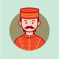 Bellhop vector avatar