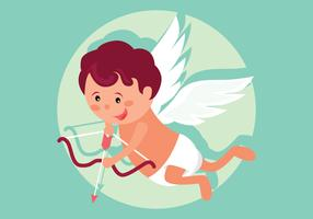 Cupid Vector Illustration