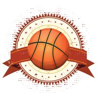 Basketball Grunge And Vintage Banner