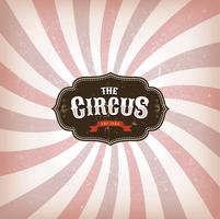 Circus Background With Grunge Texture