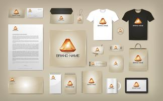 Corporate Visual Identity Mock Up