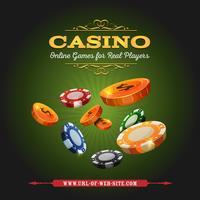 Fundo em linha do casino