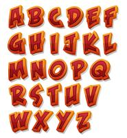 Comic Alphabet Font Set