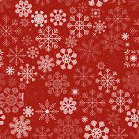 Seamless Christmas Snowflakes Bakgrund