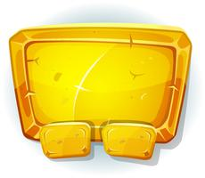 Cartoon Gold Sign pour le jeu Ui