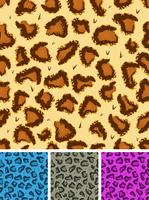 Seamless Leopard Or Cheetah Fur Background