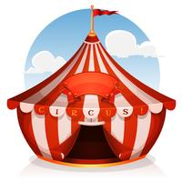 Big Top Circus met banner