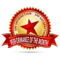 Performance of the Month Award