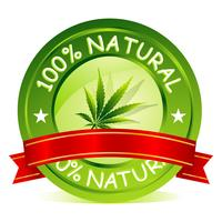 100% natuurlijke tag
