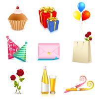 Verjaardag elementen