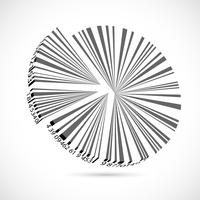 Gráfico de pizza do código de barras